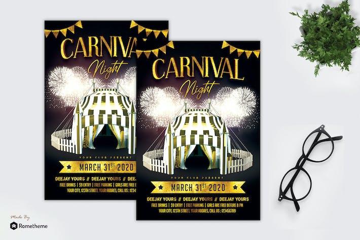 Thumbnail for Carnival Night - Flyer MR