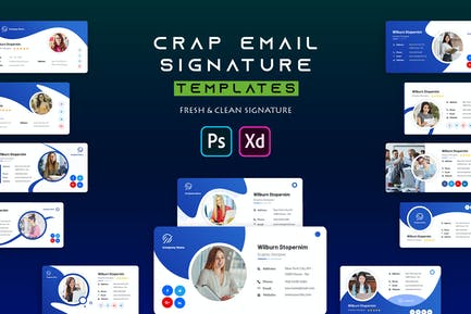Crap | Email Signature Template