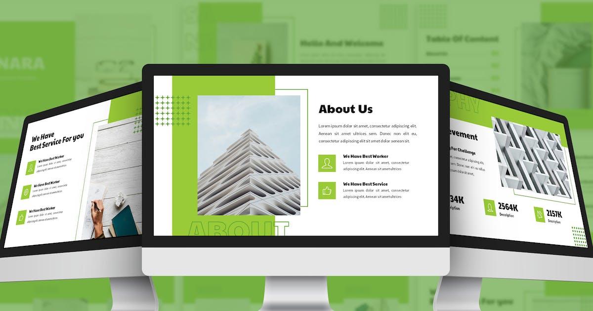 Download Sanara - Creative Google Slides Template by SlideFactory