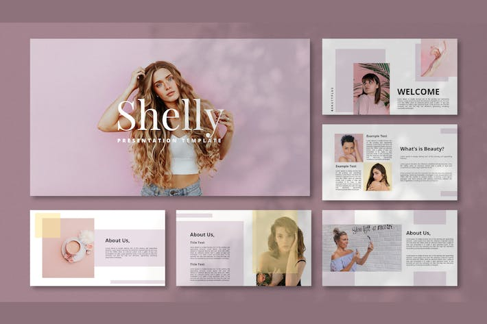 Thumbnail for Shelly - Fashion Powerpoint Template