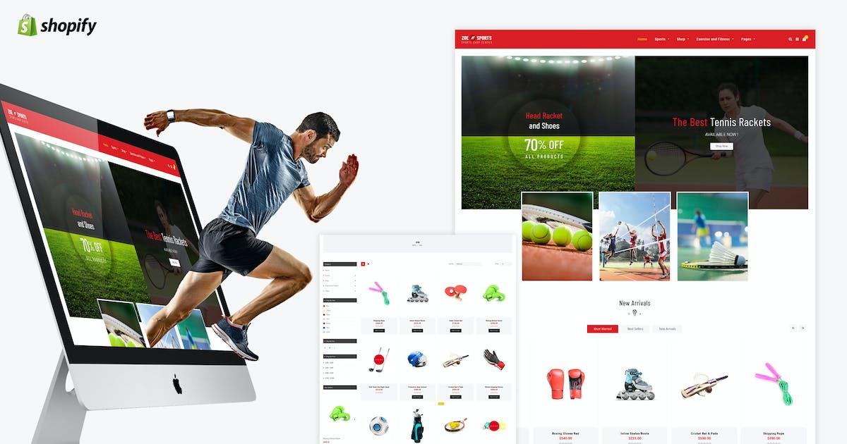 Download Zoe - Sport Store Shopify Theme by BuddhaThemes