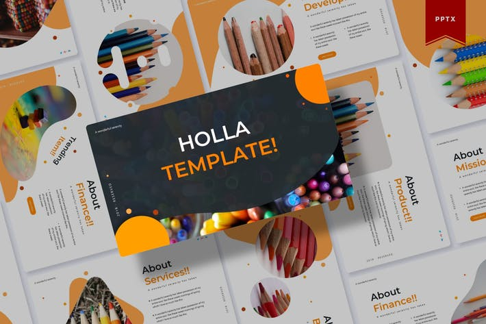 Thumbnail for Holla | Powerpoint Template
