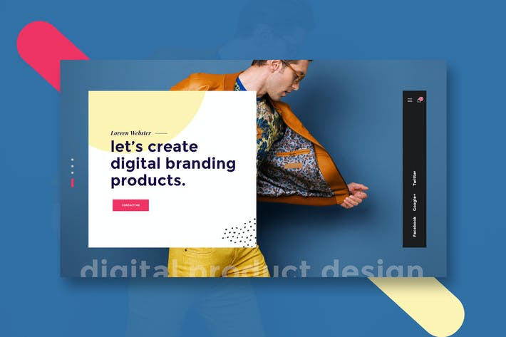 Thumbnail for Website Featured Exploration Design Template