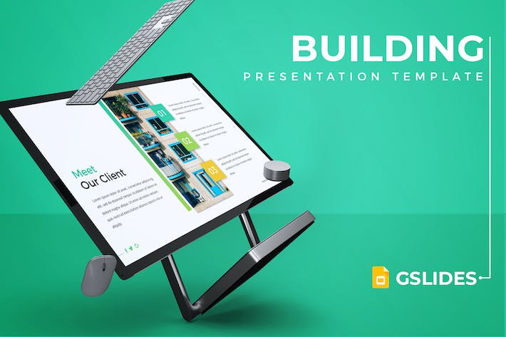 Thumbnail for Building - Google Slides Template