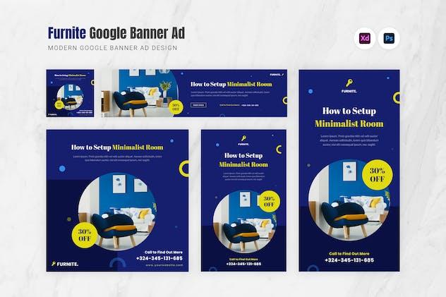 Furnite Google Ads