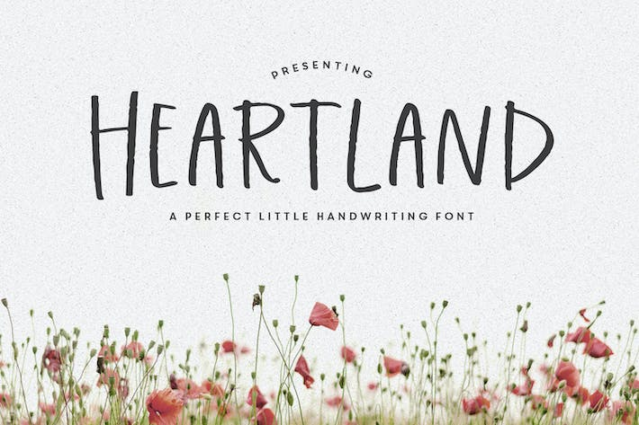 Ecriture manuscrite Heartland