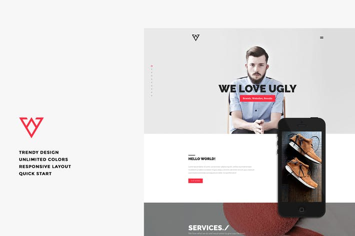 Cover Image For Viska - Responsive Joomla Template