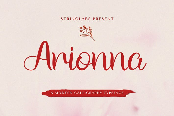 Thumbnail for Arionna - Modern Calligraphy Font