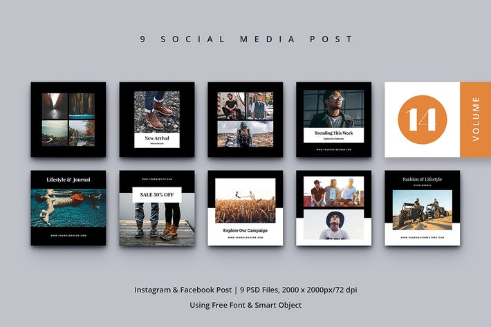 Thumbnail for Social Media Post Vol. 14