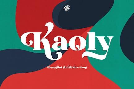 Kaoly - Hermosa fuente atractiva