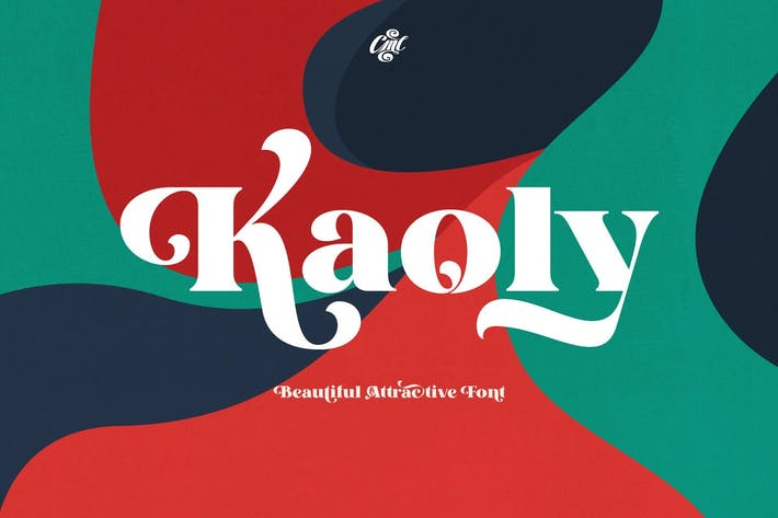 Thumbnail for Kaoly - Beautiful Attractive Font