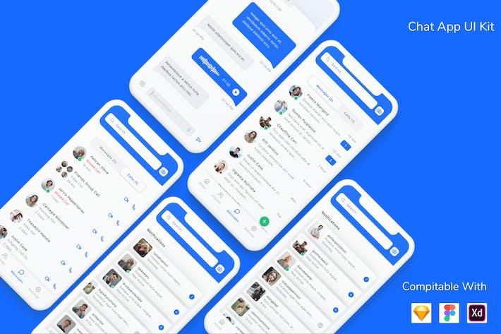 Thumbnail for Chat App UI Kit