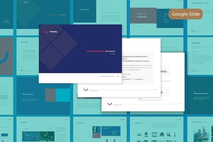 Thumbnail for Cleanest Brand Identity - Google Slide