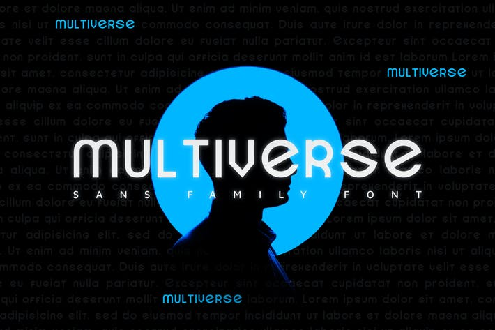 Thumbnail for Multiverse  - Font
