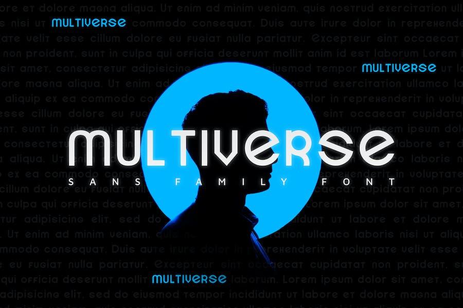 Multiverse  - Font