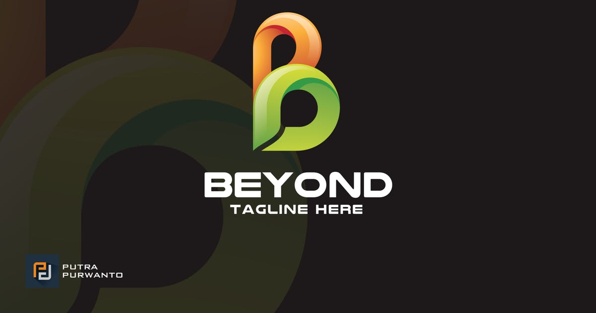 Beyond / Letter B - Logo Template by putra_purwanto