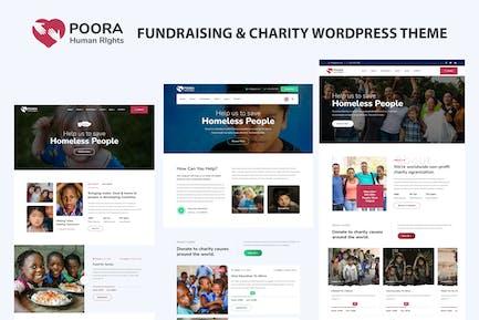 Poora - Fundraising & Charity WordPress Theme