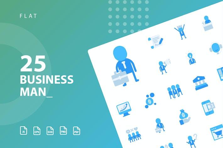 Thumbnail for Piso de hombre de negocios