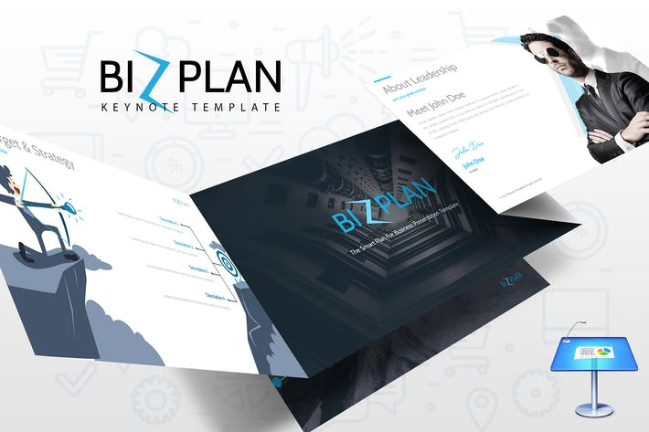 Thumbnail for Bizplan Keynote Template
