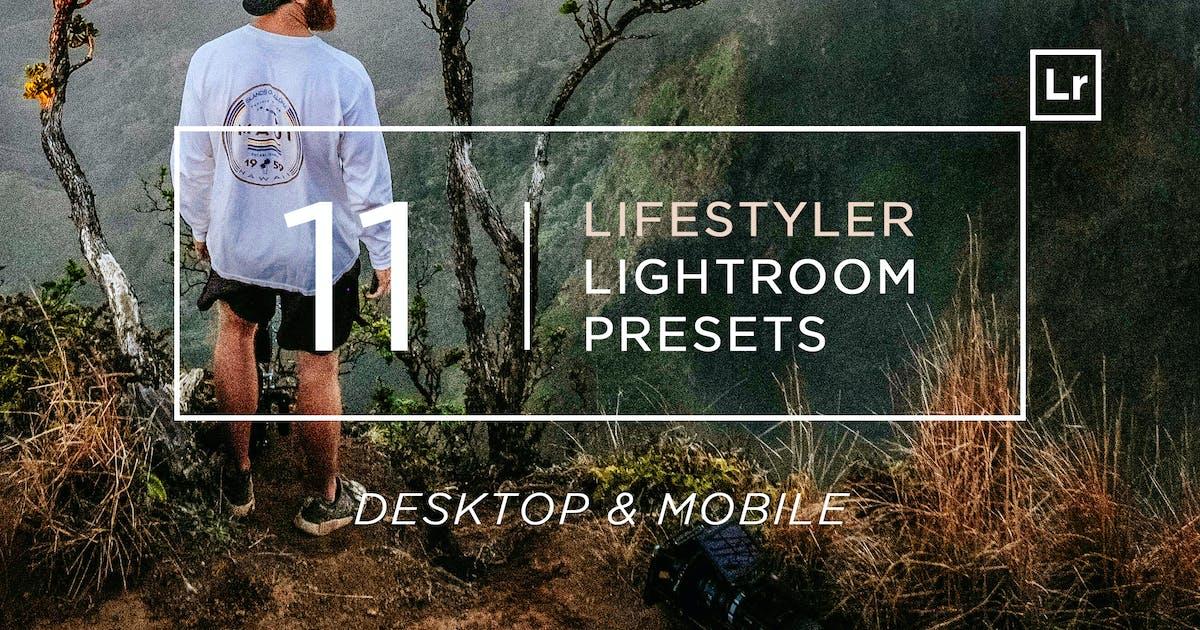 Download 11 Lifestyler Lightroom Presets + Mobile by zvolia