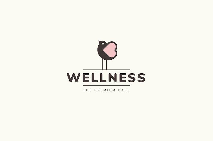 Thumbnail for Wellness Logo Template