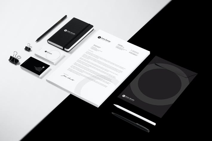 Thumbnail for Minimal Business Stationery Pack