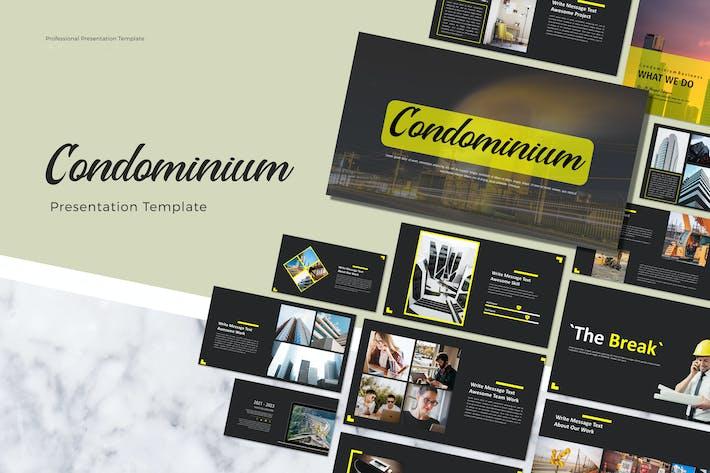 Thumbnail for CONDOMINIUM - Google Slide Presentation