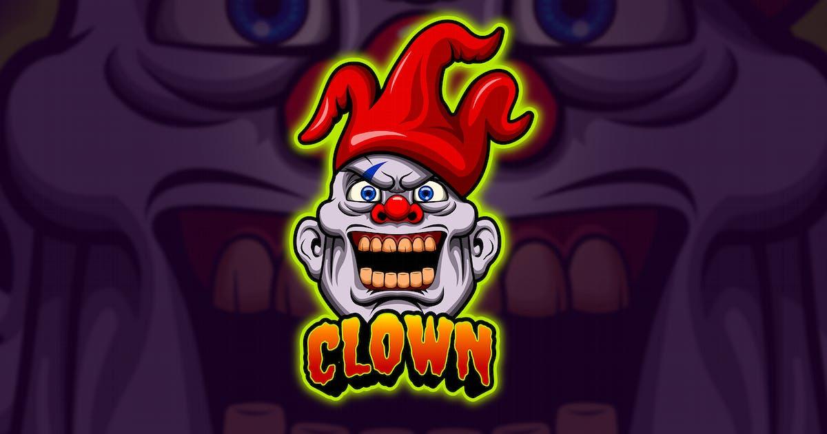 Download Clown - Mascot & Esport Logo by aqrstudio