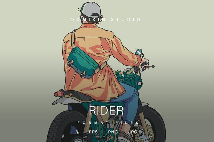 Thumbnail for Rider Illustration