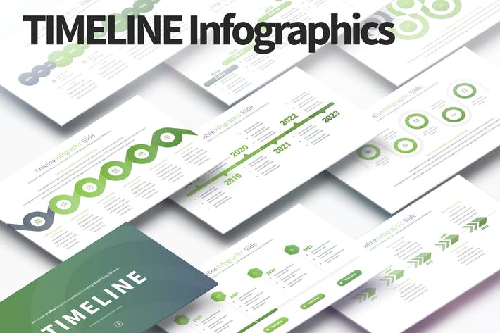Thumbnail for TIMELINE - PowerPoint Infographics Slides