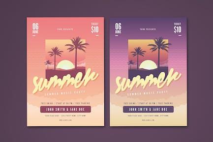 Sommer Flyer