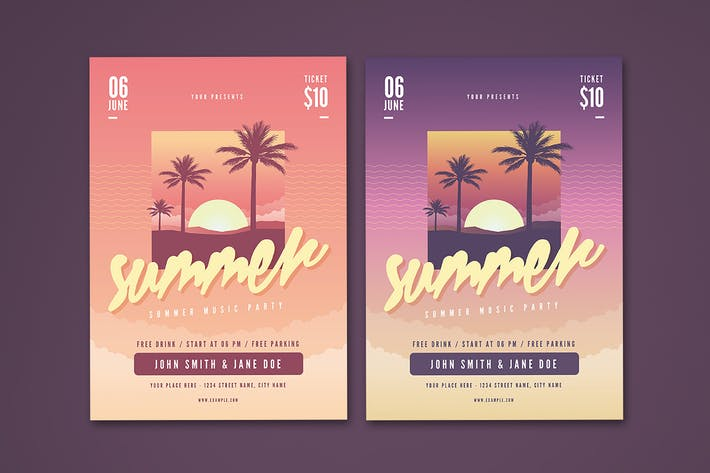 Thumbnail for Summer Flyer