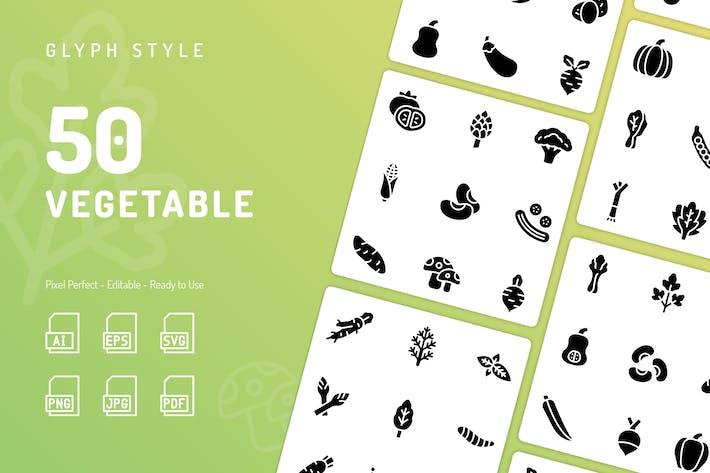 Thumbnail for Icons für pflanzliche Glyphe
