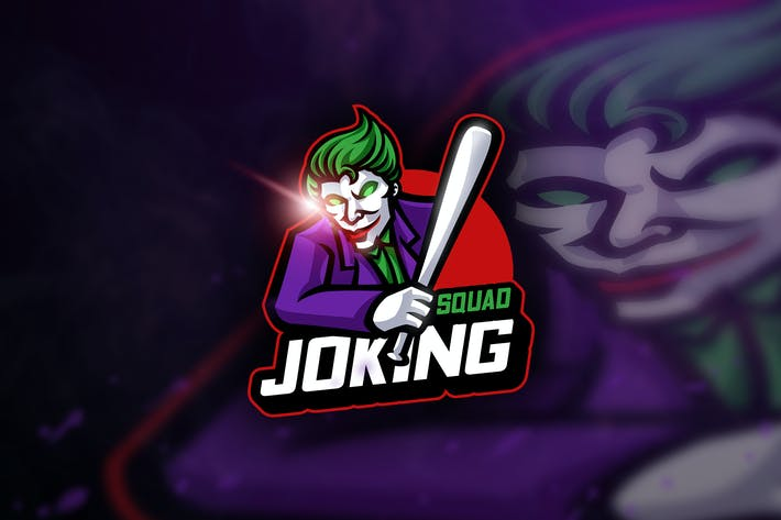 Cover Image For Joking Squad - Mascot & Esport Logo