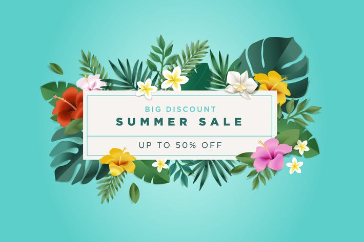 Thumbnail for Summer Sale Banner