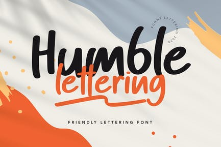 Humble Font