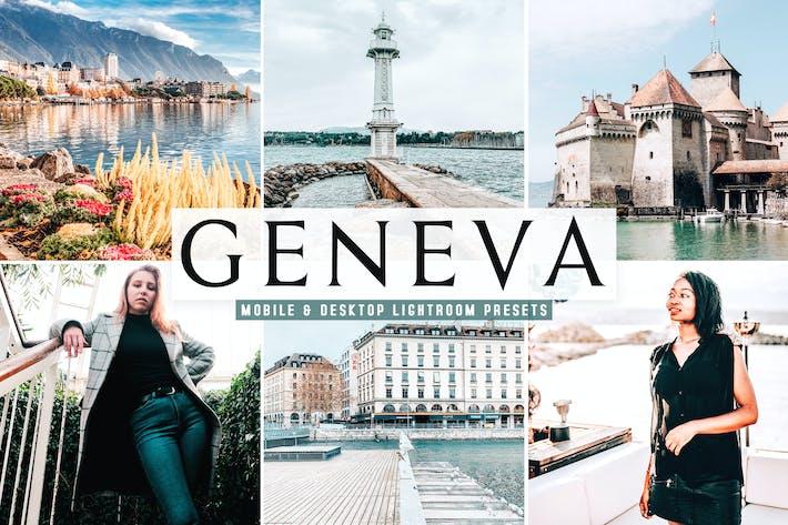 Thumbnail for Geneva Mobile & Desktop Lightroom Presets