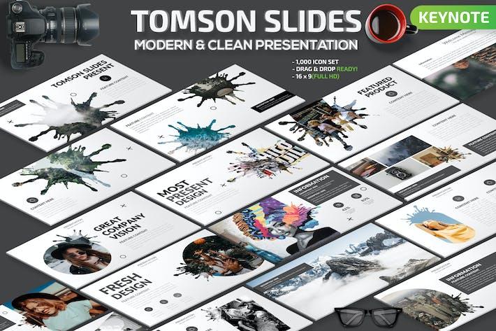 Thumbnail for Tomson Slides Keynote Presentation