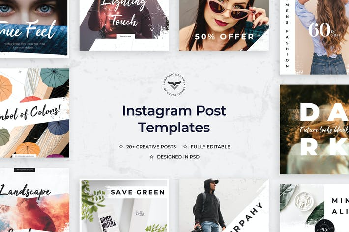 Thumbnail for Instagram Post Templates