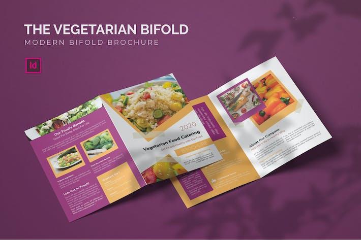 Thumbnail for Vegetarian - Bifold Brochure