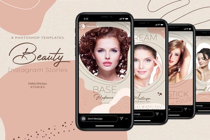Beauty Instagram Stories