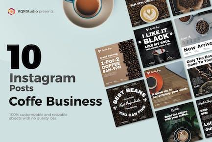 Social Media Kaffee