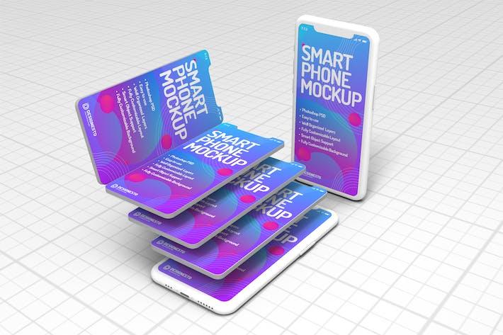 Thumbnail for Стекирование Iphone 11 — Шаблон макетов