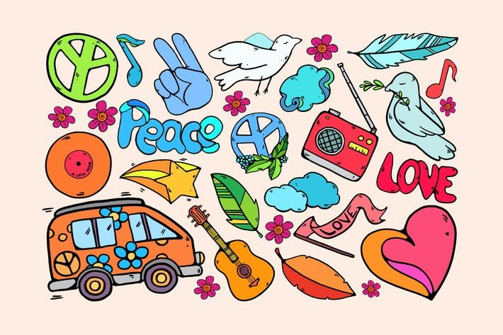 Thumbnail for Hippie Paradise Clipart