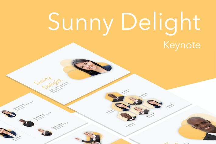 Thumbnail for Sunny Delight Keynote Template