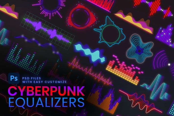 Thumbnail for Cyberpunk Equalizer