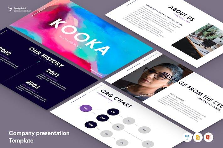 Шаблон презентации компании