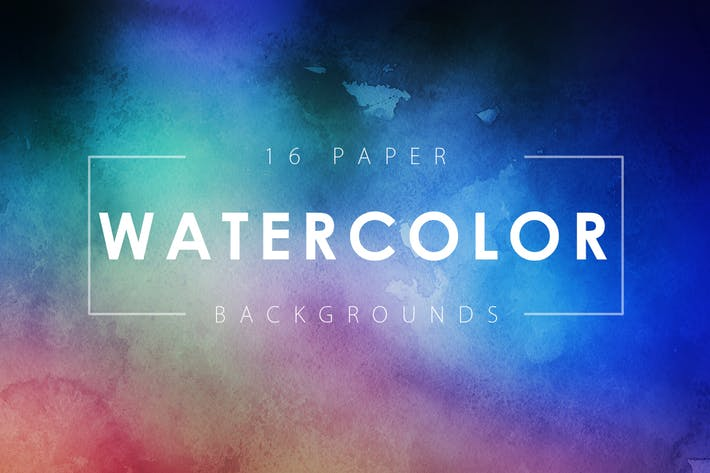 Thumbnail for Watercolor Paper Backgrounds