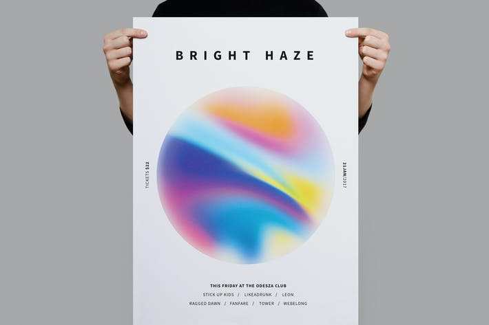 Thumbnail for Bright Haze Poster / Flyer