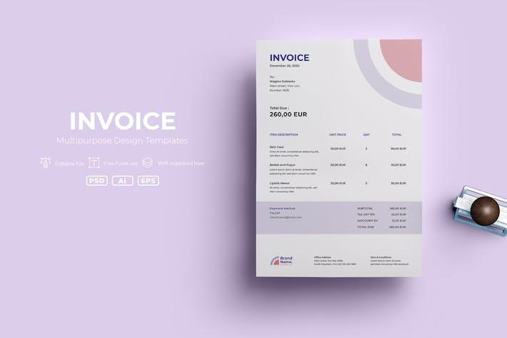 Thumbnail for ADL Invoice Template.v08